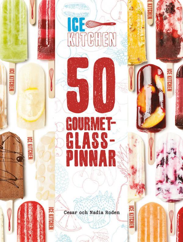50 Gourmet-glasspinnar